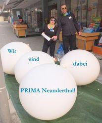 Prima neanderthal, Neandertal, Hilden, Ballon