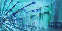 Wasser, Dynamik, Blau, Weiß