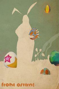 Ostern 2012, Zeichnungen, Skizzenbuch, Ostern