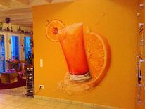 Malerei, Airbrush, Wandmalerei