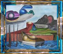 Surreal, Ölmalerei, Malerei,