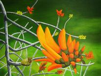 Blumen, Flora, Malerei, Pflanzen