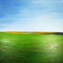 Ölmalerei, Landschaft, Natur, Frieden