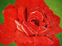 Blüte, Ölmalerei, Blumen, Flora