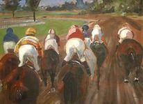 Pferdemalerei, Pferdesport, Pferderennen, Turf