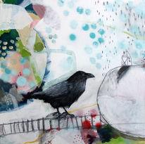 Halfbird, Erde, Abstrakt, Ramona zirk