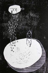 Architektur, Traum, Abstrakt, Druck