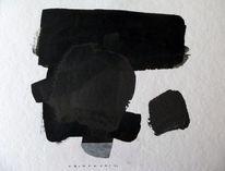 Expressionismus, Abstrakt, Schwarz, Malerei