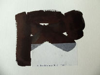 Expressionismus, Schwarz, Abstrakt
