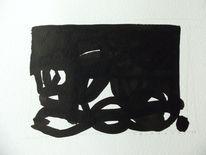 Abstrakt, Schwarz, Expressionismus