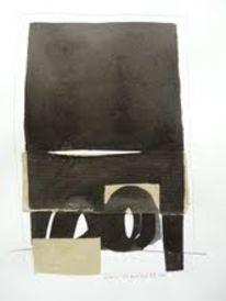 Schwarz, Schwarz weiß, Malerei
