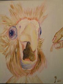 Schnabel, Malerei, Ölmalerei, Vogel