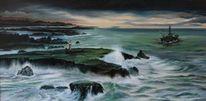 Welle, Meer, Ölpest, Leuchtturm