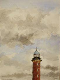 Himmel, Wolken, Cuxhaven, Meer
