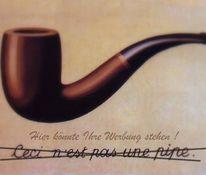 Werbung, Kritik, Magritte, Ironie