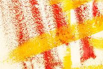 Gelb, Weiß, Abstrakt, Rot