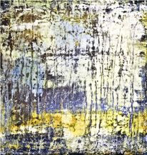 Abstrakt, Blau, Gelb, Saatchi