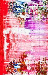 Rot, Pink, Abstrakt, Rosa