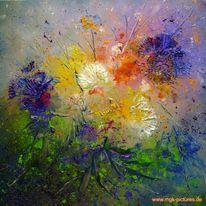 Blüte, Malerei, Figural