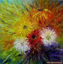 Ölmalerei, Malerei, Pflanzen, Blumen