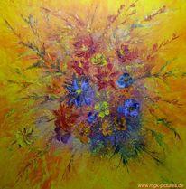 Blumenphantasie, Malerei, Pflanzen