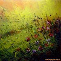 Feldblumen, Malerei, Pflanzen