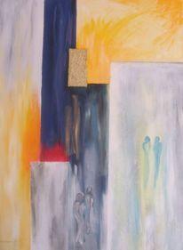 Abstrakt, Fantasie, Wangerooge, Malerei