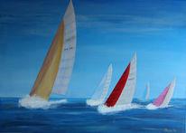 Wasser, Nordsee, Segel, Maritim