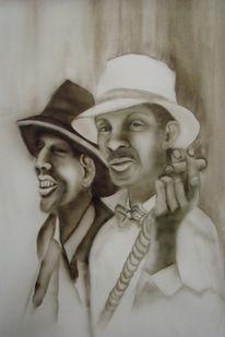 Kuba, Mann, Portrait, Airbrush