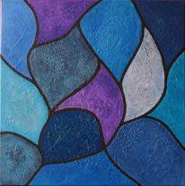 Blau, Komposition, Linie, Fläche