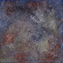 Spuren boden vergänglichkeit, Malerei, Abstrakt, Spuren