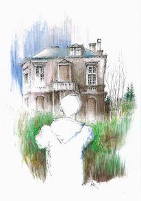 Zeichnungen, Haus, 2014