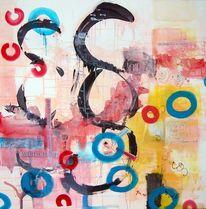 Malerei, Abstrakt, Weit, Geld