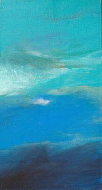 Tiefe, Blau, Meer, Malerei