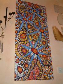 Malerei, Abstrakt, Flur