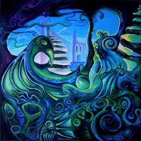 Wasser, Blau, Wesen, Vogel