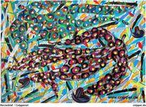 Freie kunst, Köln, Farben, Rotschein