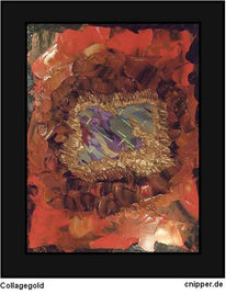 Collage, Malerei