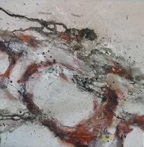 Herbstfarben, Braun, Malerei, Abstrakt