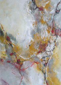 Grau, Energie, Abstrakte malerei, Sommer