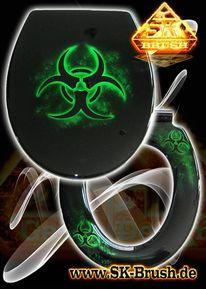 Absenkautomatik, Wc sitz, Klo, Biohazard