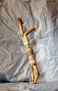 Natur, Puppe, Handstand, Frankreich