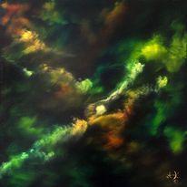 Regenbogen, Energie, Spektrum, Wolken