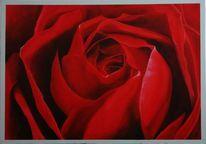 Herz, Rot, Rose, Hochzeit