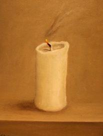 Kerzen, Licht, Malerei