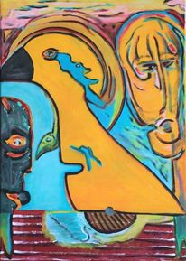 Malerei, Surreal, Phoenix, Wasser