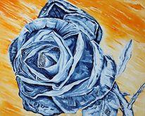 Rose, Malerei, Surreal