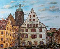 Altstadt, Pirna, Malerei