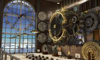 Uhrwerk, Zeit, Museum, Halle