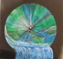 Wasser, Augen, Umwelt, Malerei